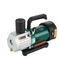 220V Double Stage Vacuum Pump 1.8CFM 1/4HP 187.5W Rotary Vane Degassing Machine