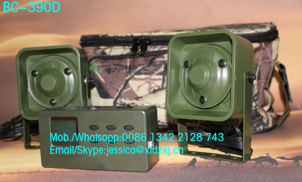 цены  high quality hunting bird caller mp3 player bird caller device 390 with chinese portable speaker