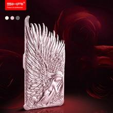 Sikai Новый 3D Угол Крылья задняя крышка для Apple iPhone 6 4.7 «случае мода ультра-тонкий Жесткий ПК Пластиковый корпус для iPhone6 плюс 5.5»
