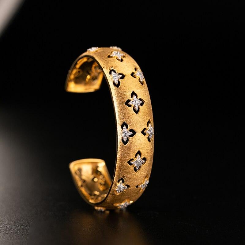 925 серебряный браслет с цирконием, серебряные стержни, 925 ювелирные изделия для женщин, Европейский стиль, Ретро стиль