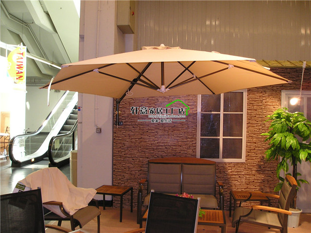Large Outdoor Patio Umbrella Rome Umbrellas Shed Wall Hanging Waterproof Shade