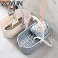 Прямоугольное ведро для уборки швабры  портативное пластиковое ведро для уборки дома  ведро для мойки автомобилей  отжимная сухая Швабра