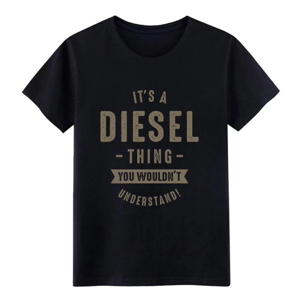 Men's Diesel   t     shirt   Print 100% cotton Euro Size S-3xl Unique Loose Casual Spring Autumn Pictures   shirt