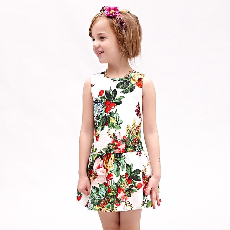 Вышивка платьев для детей