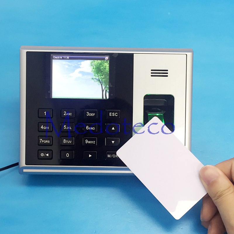 S30 TCP/IP Biometric Fingerprint Time Attendance With 13.56mhz IC Reader Employee Electronic Attendance With Fingerprint Reader