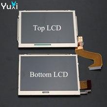 YuXi piezas de repuesto para Nintendo NDSi, accesorios, parte superior/inferior, pantalla LCD