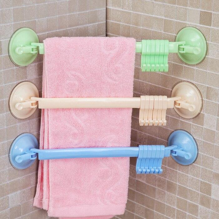 5 Color Adjustable Hook Rack Double Suction Cup Towel Rack Hanging Shelves Hook Holders Lock Type Sucker Hook Kitchen Tool ...