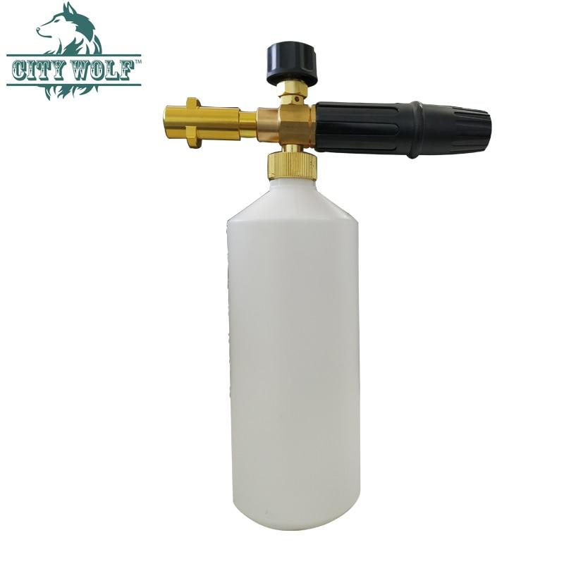 High Pressure Soap Foamer Sprayer/ Foam Generator/ Foam Gun Weapon/ Snow Foam Lance for Karcher K2 K3 K4 K5 K6 K7 Car Washer-in Car Washer from Automobiles & Motorcycles