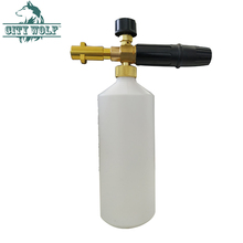 High Pressure Soap Foamer Sprayer/ Foam Generator/ Foam Gun Weapon/ Snow Foam Lance for Karcher K2 K3 K4 K5 K6 K7 Car Washer цена и фото