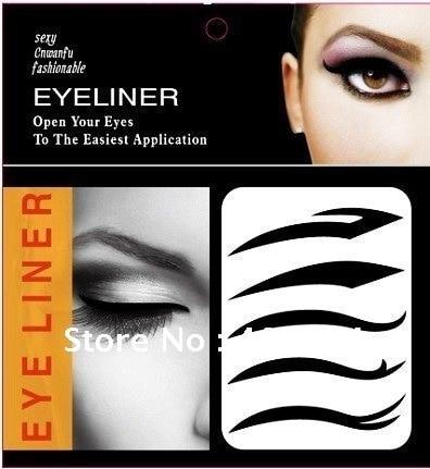 50set 2015 Hot  favorite eyeliner stickers / Vintage Eye Shadow Sticker Smoky Eyes Sticker