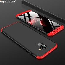 For Samsung Galaxy J6 2018 Case Luxury 3 in 1 PC Hard Back Cover for Galaxy J600 Case for Samsung J6 2018 J600F SM-J600F Coque цена и фото