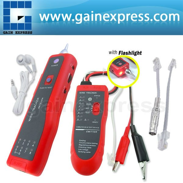 Telephone Tracer Network LAN RJ45 BNC Cable Tester Tracker Electric Wire Finder  цены