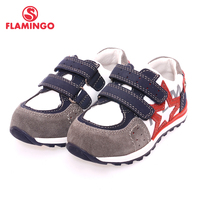 FLAMINGO Name Brand 2017 Comfortable Design Sports Style High Quality Mixture Color Hook Loop Children Beathable