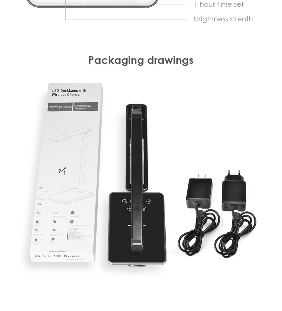Fast Qi leds Wireless 9