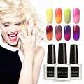 Focallure UV & LED Nail Gel Polish Temperature 30 Colors Changing Nail Gel Varnish Manicure Color UV Gel Nail Polish 7.5ml