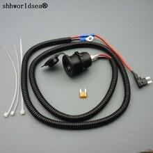 Shhworld Sea 1 комплект 1 м 1,5 мм2 разъем прикуривателя автомобиля 12 в расширение мини предохранитель кран