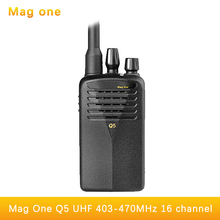 Portable Walkie Talkie Mag One Q5 16CH UHF 403-470MHz Handy Ham Radio Hf Transceiver Two Way Radio Comunicador Walk Talk