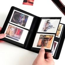 3 inch Polaroid Photo Albums Mini Instant Picture Case Storage 64 Pockets For Fujifilm Instax Mini Film 8 Photography Albums