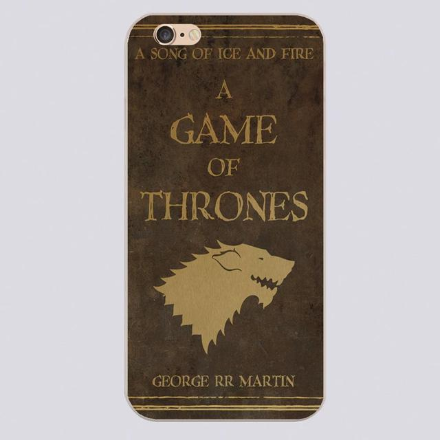 Luxury Game of Thrones House Emblems Phone Case For iPhone