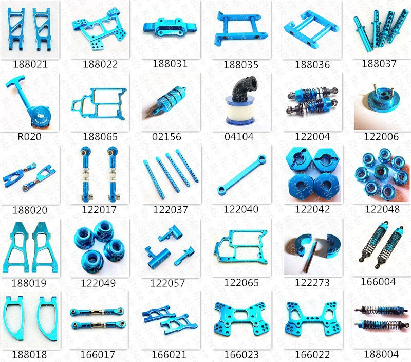 US $2 66 24% OFF|HSP Baja Upgrade Parts Kit Spare Parts Aluminum Alloy For  HiSpeed Himoto Red Cat 1/10 4WD R/C Model Car On/Off /Road Buggy Truck-in