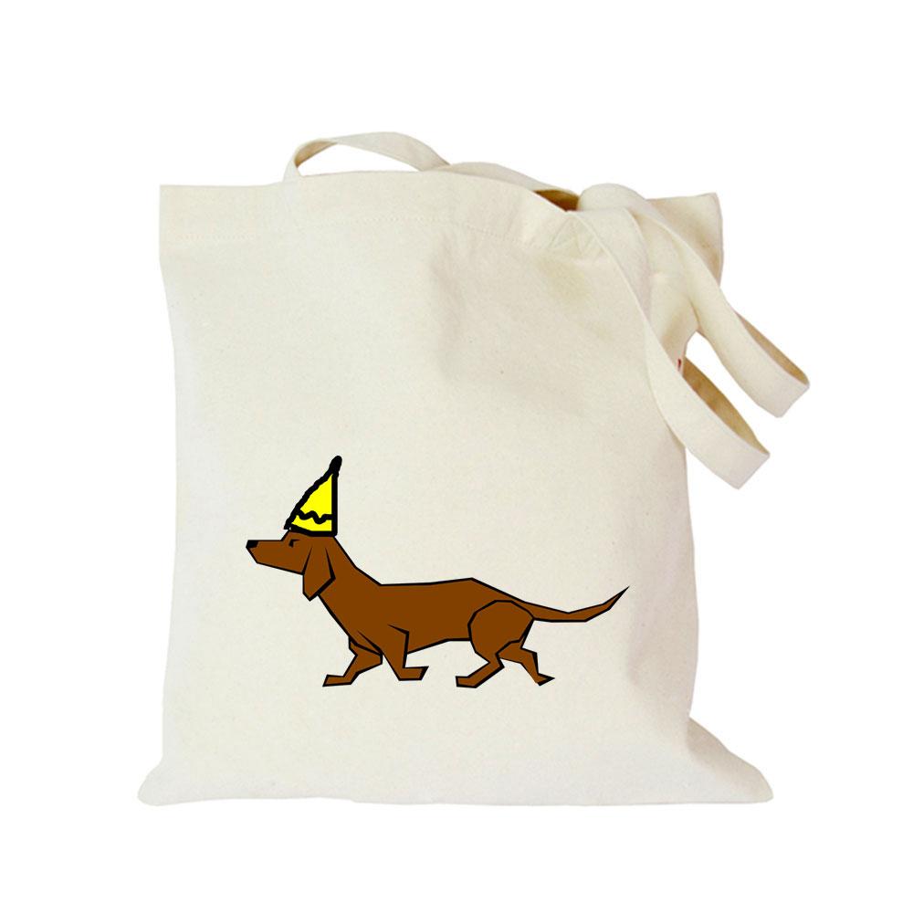 2019 Pet dog series canvas bag customized eco custom tote bag custom made shopping bags with logo Dachshund Shepherd Dog Poodle (5)