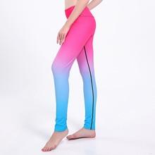 Dropship Sporto antklodės Lieknas Hip Kvėpuojantis Greitas Sausas Ponios Aukštos Liemens Joga Kelnės Sunkioji apranga Joga Pants Yoga0242