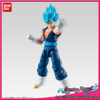 PrettyAngel Genuine Bandai Tamashii Nations SHODO Vol.5 Dragon Ball Z Super Saiyan God SS Vegetto (9cm tall) Action Figure