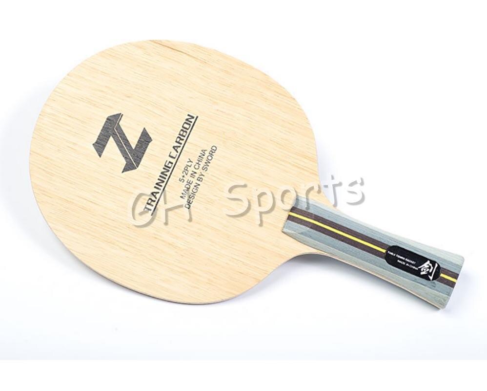 Sword New Training Carbon Table Tennis Blade for PingPong Racket 2016 new vintage hollow polygon glasses retro fashion sunglasses for women men luxury brand designer uv400 lrregular eyewear