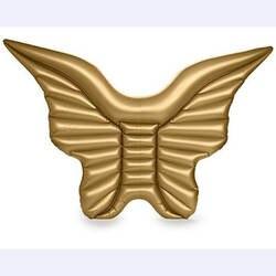 Надувные игрушки Крылья Ангела Water бильярдным игрушка бело-золотые плавание кольцо ряд надувной матрас с плавающей для Для женщин поплавок