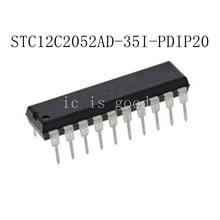 5PCS STC12C2052AD-35I-PDIP2 STC12C2052AD-35I-PDIP20