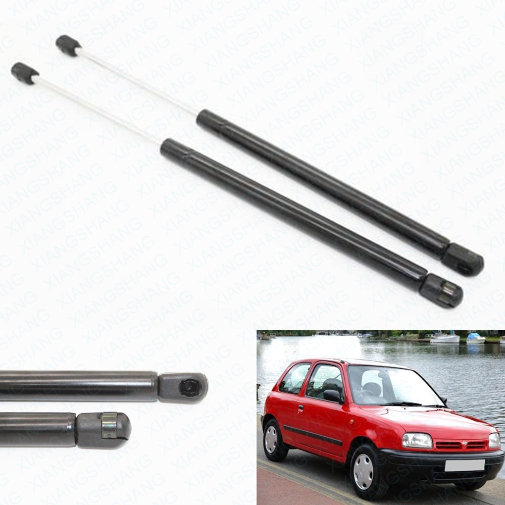 2pcs auto tailgate boot gas struts car lift support for nissan micra k11 1992 1993