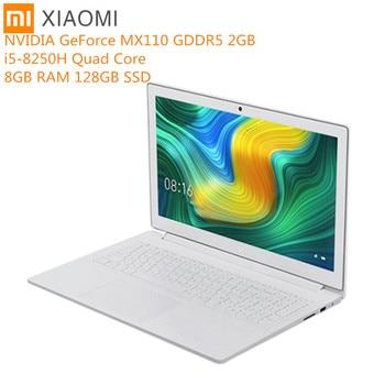 Original xiaomi mi notebook 15.6 polegada windows 10 intel core i5 - 8250 h quad core 8 gb ram 128 gb ssd bluetooth geforce mx110
