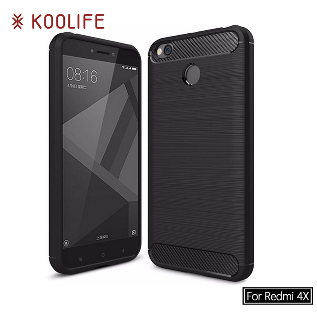 for Xiaomi Redmi 4X Case Full Protection Soft TPU Back Cover for Xiaomi Redmi4X Case KOOLIFE Brand Phone Case for Redmi 4X Cover
