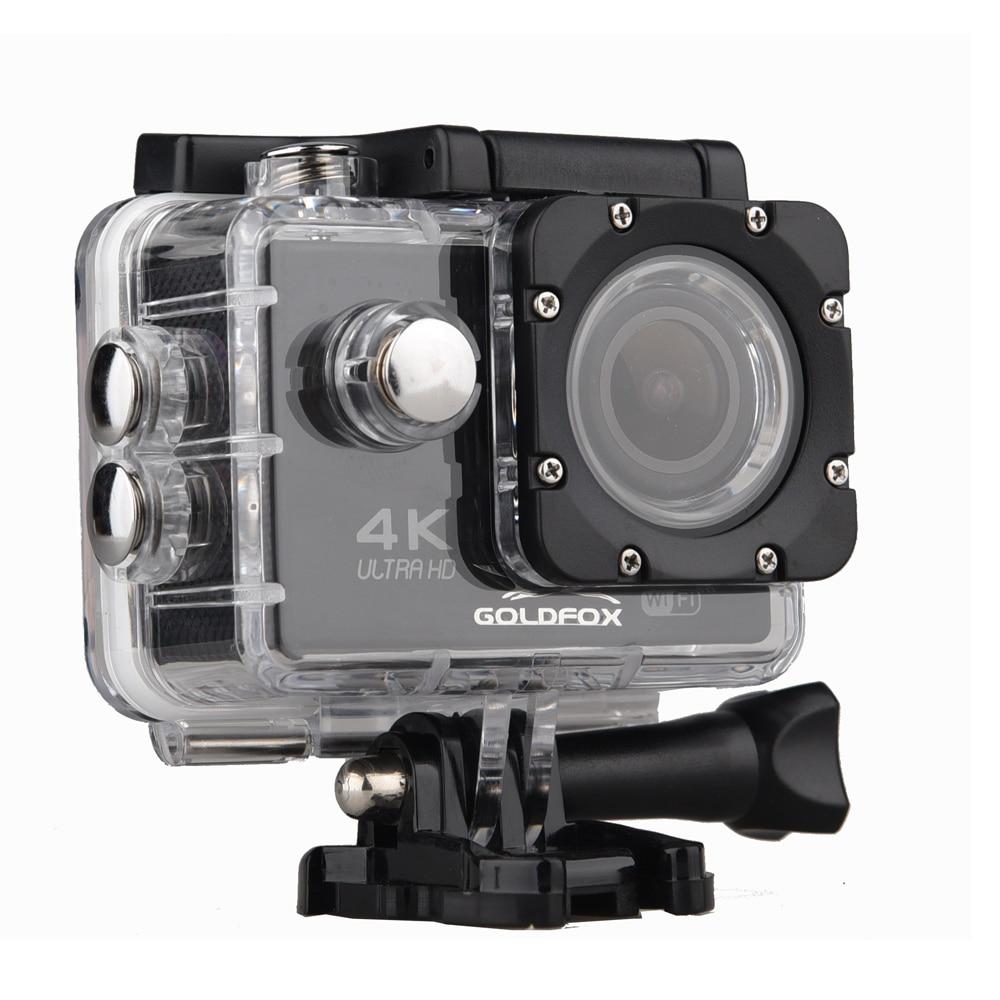 Goldfox 16MP 4K Wifi Action Kamera 170D Breite Objektiv 30M Unterwasser Kamera Gehen Wasserdicht Pro Sport DV Bike helm Cam