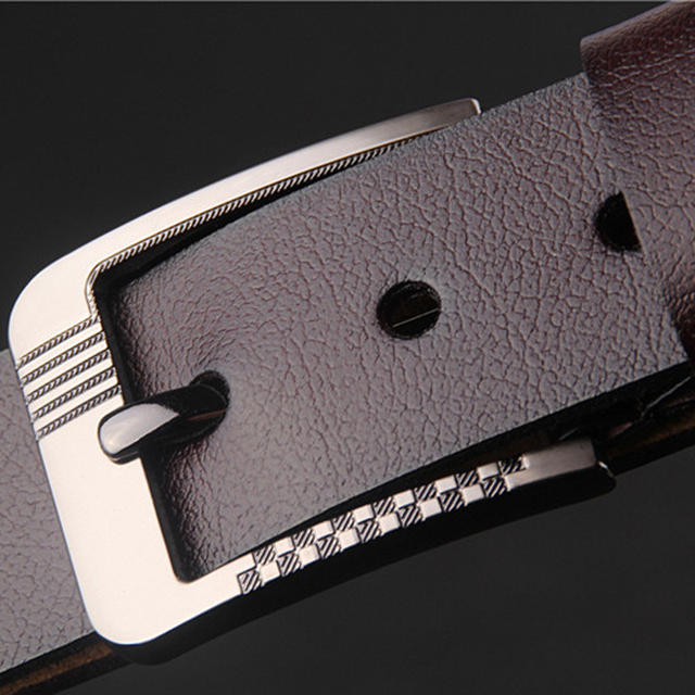 Men's leather belt  fat people  lengthened 150cm fat leather widening Buckle  waistband