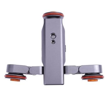 L4 Wireless Remote Motorized Electric 3 Speed Track Slider Dolly Car Video Pulley Rolling Skater for DSLR Camera Cellphone