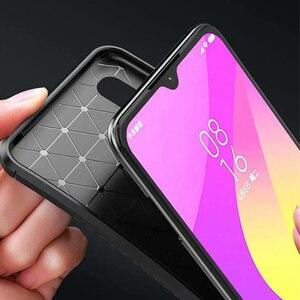 Image 4 - Xiao mi mi A3 bir 3 kılıf lüks karbon fiber kapak darbeye dayanıklı telefon kılıfı için mi 9 Lite CC 9 CC 9e kapak Ultra Fit tampon kabuk