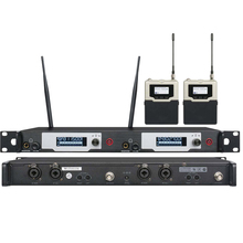 UK-9400 UHF Stereo Wireless Monitor System 572-603 MHZ Professional Digital Stage In-Ear Monitor System em2050 wireless in ear monitor system 10 ear monitoring systems wireless stage monitor system em2050 iem bodypack monitor