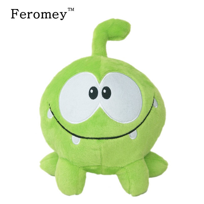 Kawaii cut the rope Om Nom Plush Doll Toys 20cm Cartoon cut the rope Soft Stuffed Animals Doll Children Kids Birthday Gift цена