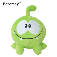 Kawaii cut the rope Om Nom Plush Doll Toys 20cm Cartoon cut the rope Soft Stuffed Animals Doll Children Kids Birthday Gift(China)