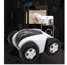 P2P  Wireless  IP  Cameras  mini  car tank robot  type  home security  moving CCTV  cameras  Wireless  Recharge  720P IP  Camera