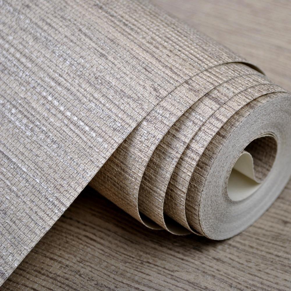 Modern Wallpaper Sage Green Metallic Faux Grasscloth: Modern Plain Rustic Textured Wallpaper Horizontal