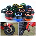 Motorbike Falling Protection CNC aluminum Motorcycle Front Rear Fork Wheel Frame Slider Crash Pads unviersal for Yamaha