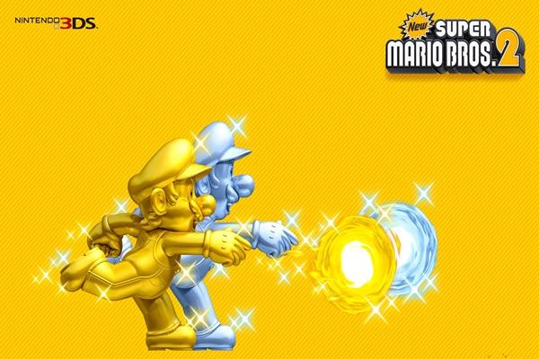 Free Shipping Golden Super Mario Throw Fireball Wallpapers Custom ...