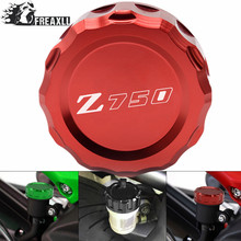 Motorbike Accessories Motorcycle For Kawasaki Z 750 Z750 Rear Brake Reservoir Cover Cap Cylinder Reservoir Cover 2010-2013 2014 38mm motorcycle accessories rear brake reservoir cap for kawasaki z1000 2007 2013 z750 2007 2014 zx6r 07 08