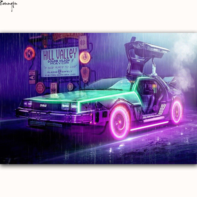 ZP660 New Back To The Future 1 2 3 Hot Amazing Movie Art Poster Silk Light