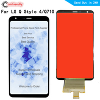 6.2 lcd For LG Q Stylo 4 Q710 LCD Display+Touch Screen Digitizer with frame Assembly For LG Q710MS phone replace lcds screen