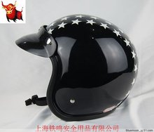 Free shipping motorcycle helmet sports / export Japan / OGK OEM / upscale retro helmet flight helmet / black Little Star