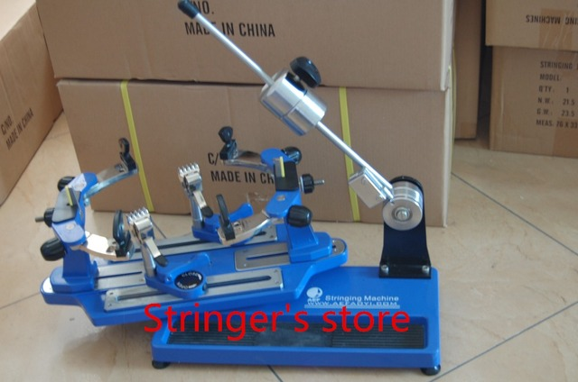 Tennis Stringing Machine >> Us 659 0 Aef Badminton Racket Tennis Racket Stringer Stringing Tools Drop Weight Stringing Machine Flyer 2 In Badminton Rackets From Sports