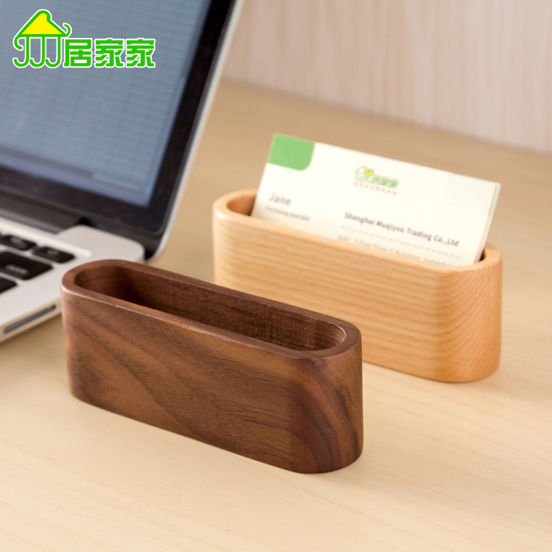 Popular Wooden Business Card Holder Buy Cheap Wooden